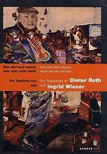 The Tapestries of Dieter Roth & Ingrid Wiener: You Can Also Weave What You Do No