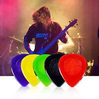 Lot 40 PCS/Box Mix Color Guitar Picks Plectrums With Case 1.0mm/ 2.0mm/ 3.0mm