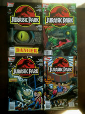 JURASSIC PARK COMIC SET # 1-4 TOPPS COMICS 1993 NEWSSTAND EDITIONS