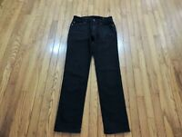 "American Eagle Jeans Next Level Flex Slim Straight Men's Size 30 X 31"" Black"
