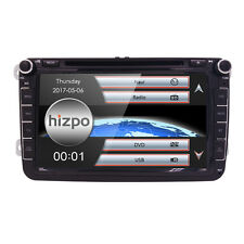 "Car Stereo Radio 8"" HD DVD Player GPS Sat Nav VW PASSAT/SKODA Fabia/SEAT"