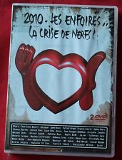 Les enfoirés 2010, la crise de nerfs - restos du coeur, alizée goldman , 2 DVD