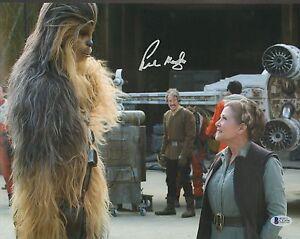 "PETER MAYHEW Signed  STAR WARS ""Chewbacca"" 11x14 Photo BECKETT BAS #C12456"