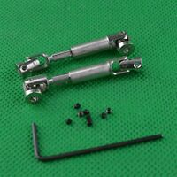 1 Paar Metall Antriebswelle Drive Shaft  Reparaturset für 1/24 Mini Auto Crawler