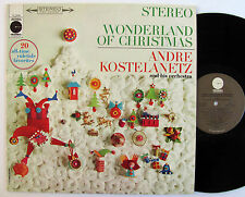 Andre Kostelanetz Wonderland of Christmas strong NM- holiday carols classical
