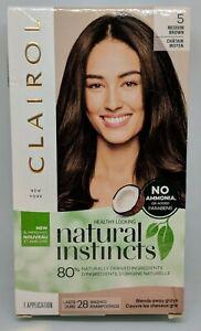 Clairol Natural Instincts Hair Color #5 Medium Brown