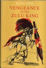 VENGEANCE of the ZULU KING by Jenny Seed ( 1970 HC) YA fiction Africa