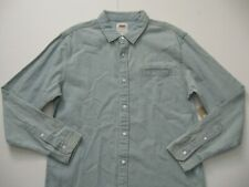 4ee4236dc3 Levi s Men s Greg Long-sleeve Denim Shirt Size Slim ...
