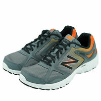 New Balance Men's M579 Br1 Ankle High Running Athletic Shoes Gray Orange 10.5