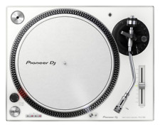 Pioneer PLX-500-W White DJ Vinyl Record Deck Turntable Direct Drive -2 Available