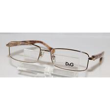New DOLCE & GABBANA D&G 5094 1060 Eyeglasses Frames Glasses Brown Marble 52mm