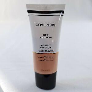 CoverGirl Vitalist Go Glow Luminizing Lotion #1 Daybreak with Vitamins