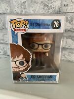 Funko Pop Pop Rocks Ed Sheeran Ed Sheeran #76