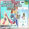 Pokémon GO - Walk 20km To Evolve Your Feebas - Help With Jirachi Research
