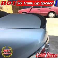 Flat Black SG Type Rear Trunk Spoiler Wing For Honda Civic 2012-2015 Coupe ♘