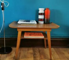Coffee Side Table By Myer Mid Century Modern Curved Plywood Scandi G Plan Danish