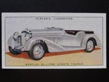 No.10 BENTLEY 3.5 LTR SPORTS TOURER - Motor Cars, A Series - John Player 1936