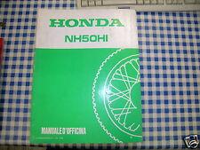 BB 69GY900 Workshop Manual HONDA NH 50 HI K Edition 1989