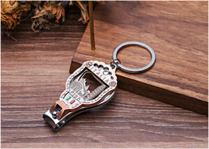 Italia Vintage Nail Clipper 3D Relief Keychain Leaning Tower of Pisa