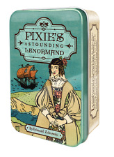 Pixie's Astounding Lenormand in a Tin - pocked-sized deck, NEW