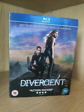 Divergent (Blu-ray, 2014) with Slipcase