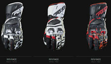 Motocross-und Offroad-Handschuhe aus Leder mit Klettverschluss