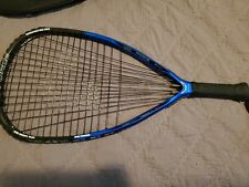 E-FORCE BEDLAM 160g Tri Carbon Racquetball Racquet with Case EXCELLENT