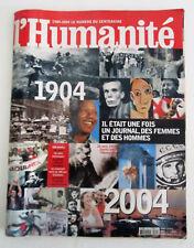 L'HUMANITÉ - Le Numéro du Centenaire (1904-2004) - Communisme