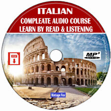 Italian Language Course Learn By Read & Licensing Beginners To Advance MP3 CD