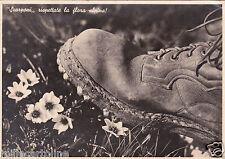 * WWII - Scarponi, rispettate la flora alpina! - Como 3° Genio Telegrafisti 1941