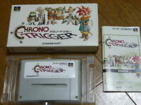 Nintendo Super Famicom Chrono Trigger SFC SNES Japan w/box