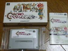 Nintendo Super Famicom Chrono Trigger SFC SNES Japan w/box