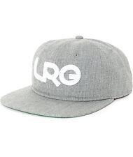 LRG Branded Wool Grey Snapback Hat, Gray, Adjustable