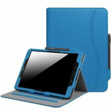 """Samsung Galaxy Tab S3 9.7 / Tab E 8.0"""" 9.6"""" Leather Case Cover Corner Protection"""