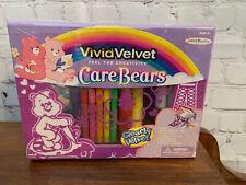 Care Bears Vivid Velvet Keeper Storage Box Activity Kit w/ Tray Accessories Nib