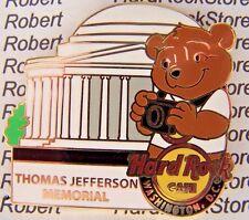 2014 HARD ROCK WASHINGTON DC NATIONAL PARK BEAR SERIES/THOMAS JEFFERSON PIN