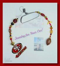 San Francisco 49ers - Sports Football Rear View Mirror Hanger Car Jewelry