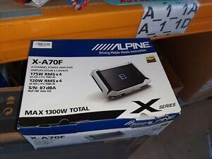Alpine X-A70F - 4-Channel Digital Amplifier