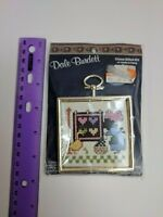 Dale Burdett Amish Girl Clothesline Goose Quilt Counted Cross Stitch Mini Kit