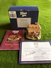 Lilliput Lane: Wash Day #866 or Ll 240, with Box & Deed