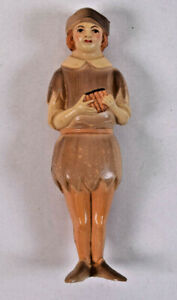Vintage Rare Dupont Viscoloid Celluloid 1920's Pied Piper Baby Rattle