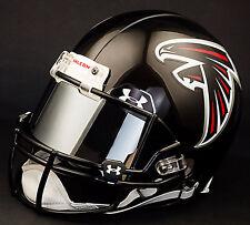 ATLANTA FALCONS NFL Gameday REPLICA Football Helmet w/ MIRROR Eye Shield