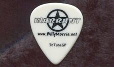 WARRANT Concert Tour Guitar Pick!!! BILLY MORRIS custom stage Pick