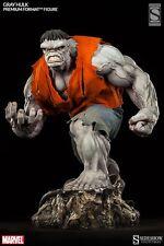 Sideshow Gray Incredible Hulk Premium Format Pf Statue Exclusive Ex Avengers New