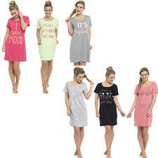 Nachthemd Sleepshirt Damen Bigshirt verschiedene Modelle Einhorn... 36-50 NEU