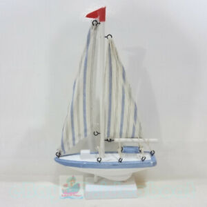 Nautical decor WOOD MODEL(Height 27cm) Sailing Boat Tall Ship Sailer Yacht