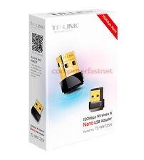SCHEDA DI RETE TP-LINK TL-WN725N NANO WIRELESS 150MBPS USB 2.0 ADATTATORE WIFI