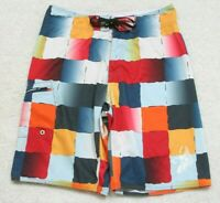"""Local Motion Swimming Board Shorts Large 32"""" X 11 Polyester Spandex Man's Men's"""