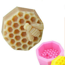 Bee Silicone Cake Soap Craft Fondant Mold Handmade Candle Pastry Baking Mould DF