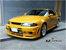 NISMO 400R NISSAN R33 SKYLINE SERIES 1 FRONT BUMPER, MADE IN BRISBANE BY MONKEY
